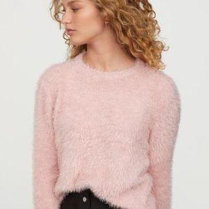 H&M Sweaters - H&M fluffy, fine-knit sweater